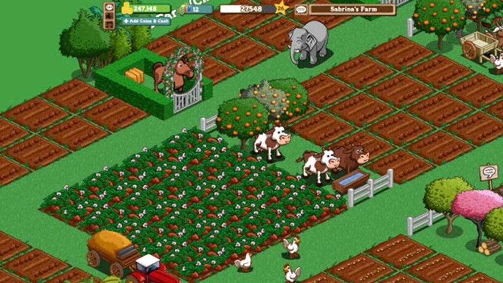 Farmville verdwijnt Facebook