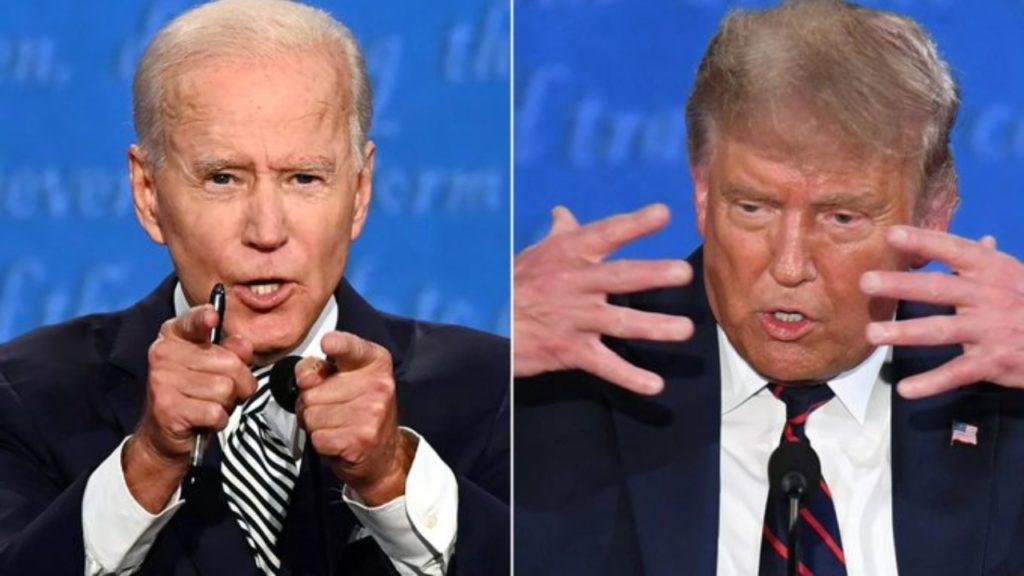 eerste debat Amerikaanse verkiezingen