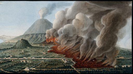 Intacte hersencellen Vesuvius uitbarsting Herculaneum