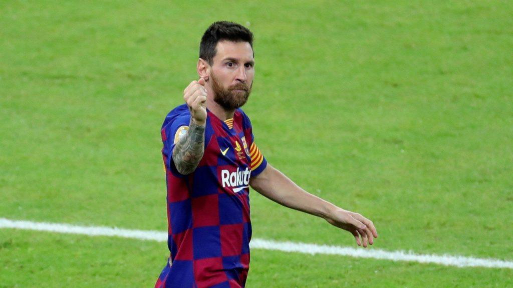 Messi vertrek FC Barcelona