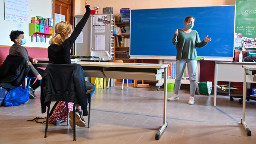 Vlaamse regering steun scholen leerachterstand