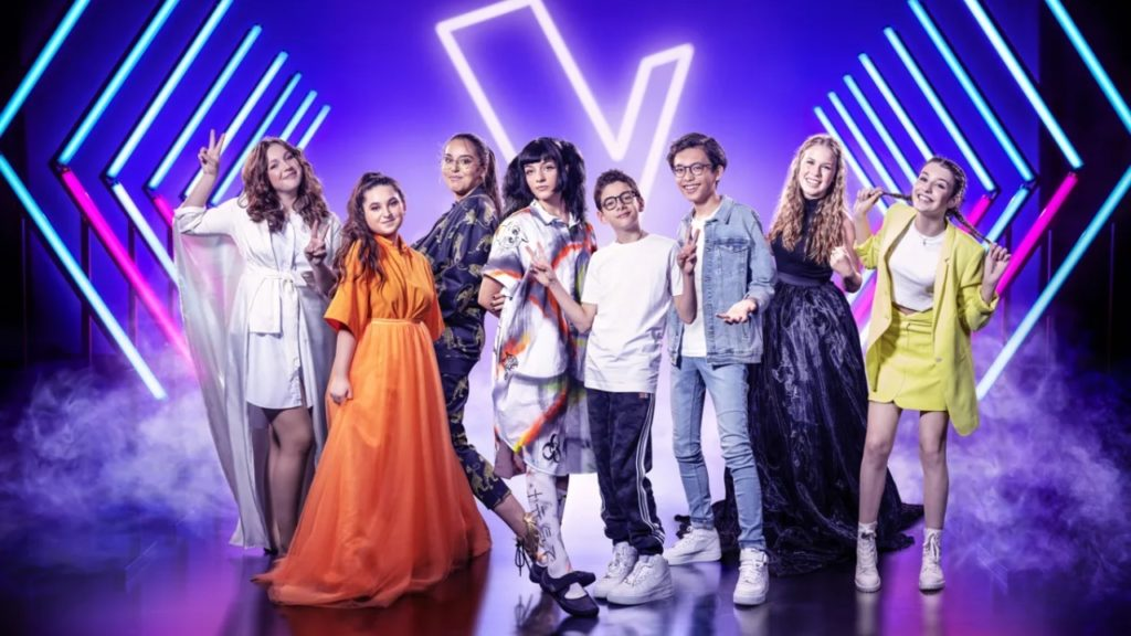 The Voice Kids finale songs