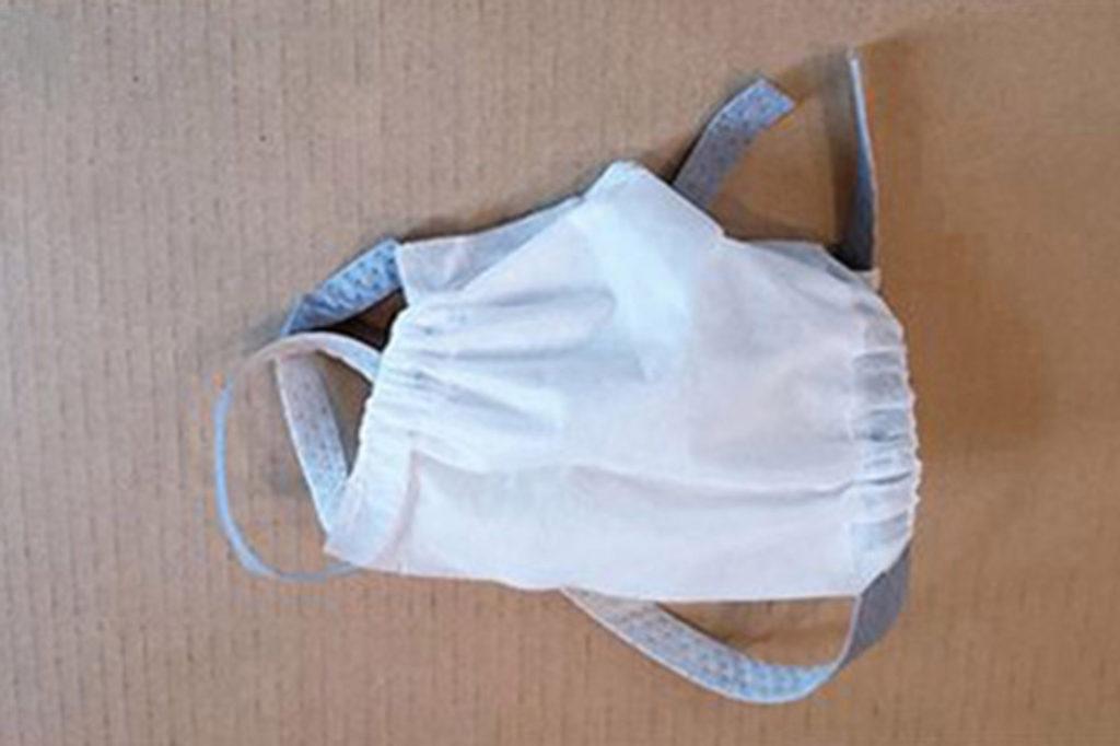 Masker uit polypropyleen