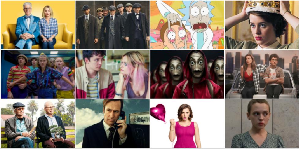 Dit zijn de 50 beste series op Netflix
