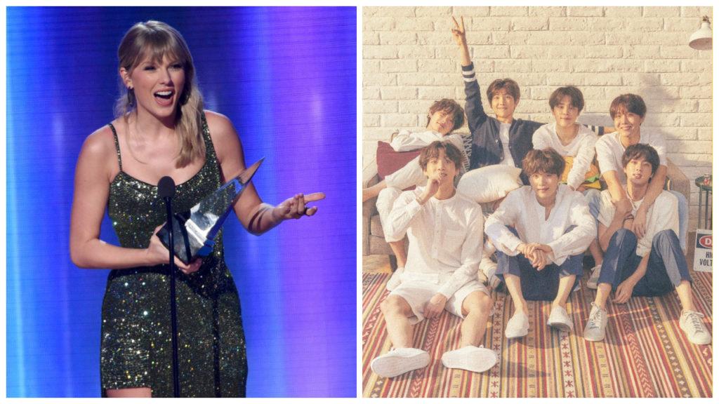 AMAs American Music Awards Taylor Swift BTS