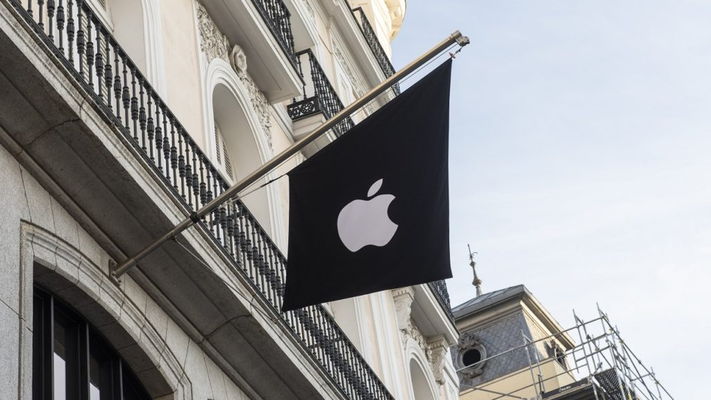 Apple vlag logo