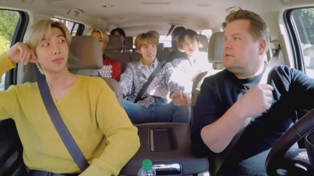 BTS Carpool Karaoke Baby Shark