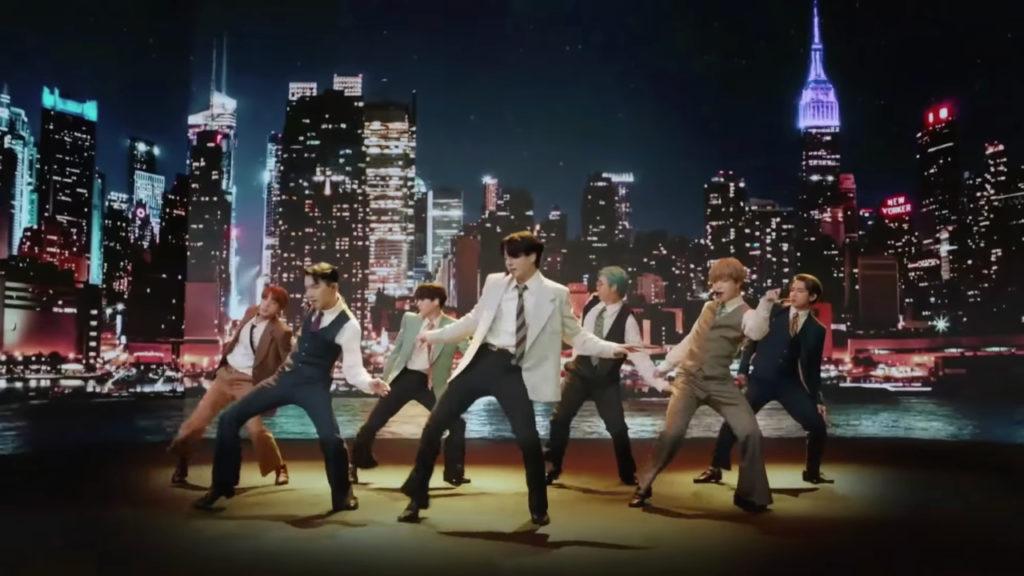 BTS Dynamite Billboard 100