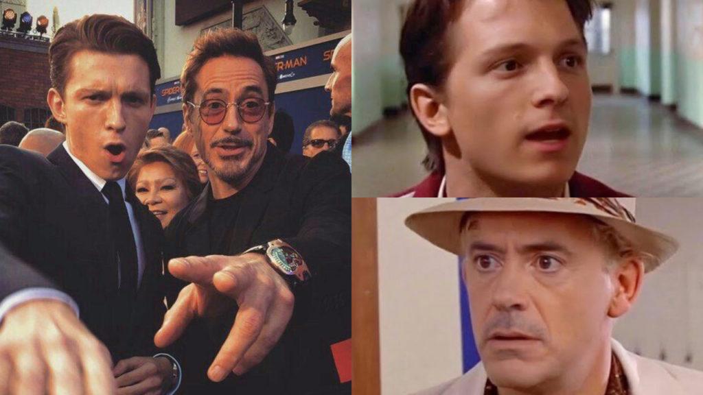 'Back To The Future' met Robert Downey Jr. en Tom Holland dankzij deep-fake video