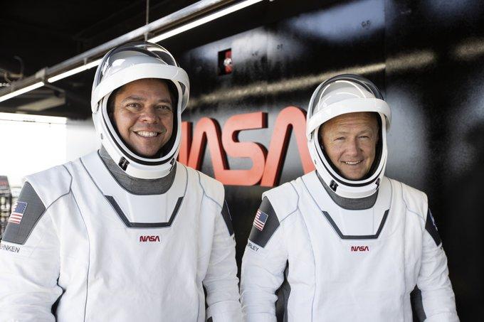 Bob Behnken Doug Hurley SpaceX NASA