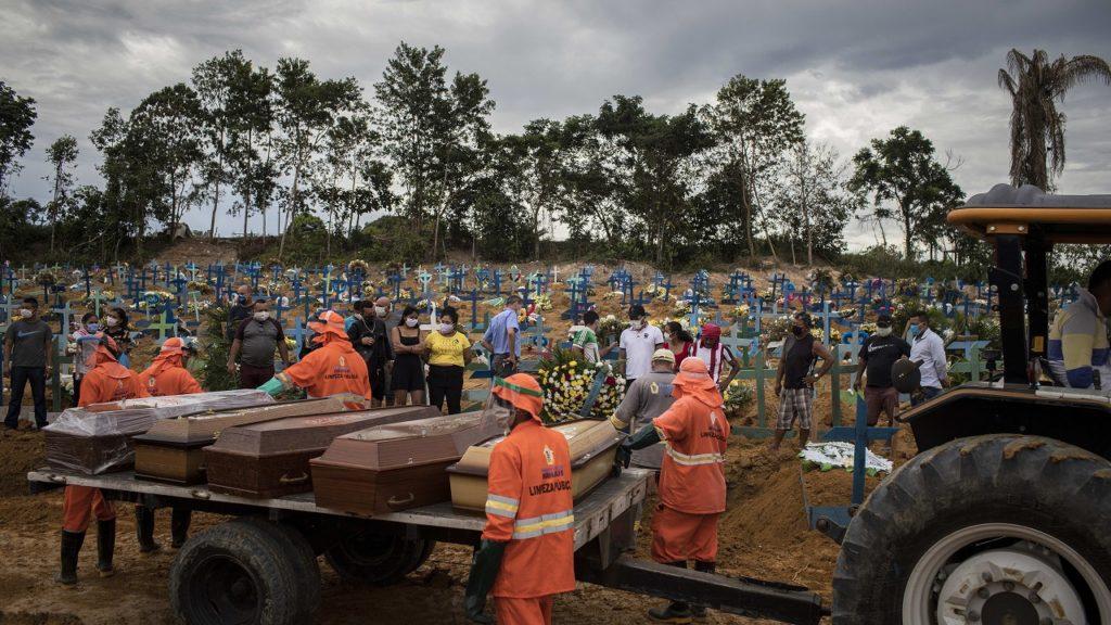 Brazilië massagraven coronavirus