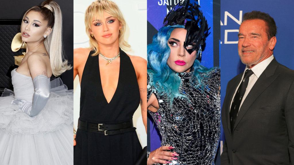 Celebrities coronavirus