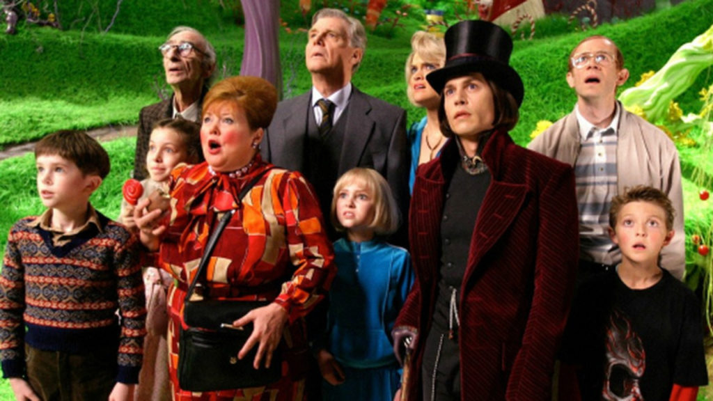 Charlie and the Chocolate Factory Wedstrijd Fabriek