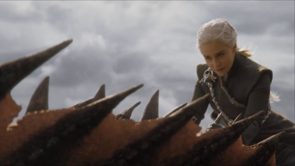 Daenerys Draak Mad Queen Game of Thrones
