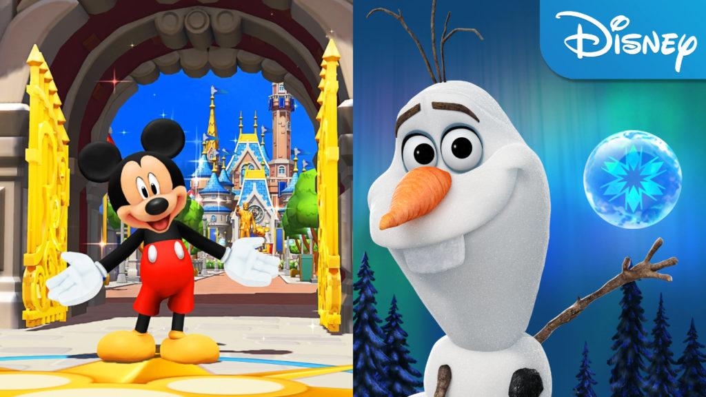 Disney mobiele spelletjes