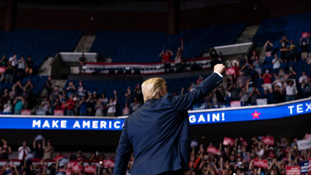 Donald Trump Tulsa rally