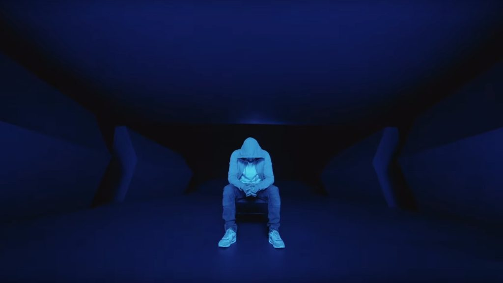 Eminem Darkness MV still