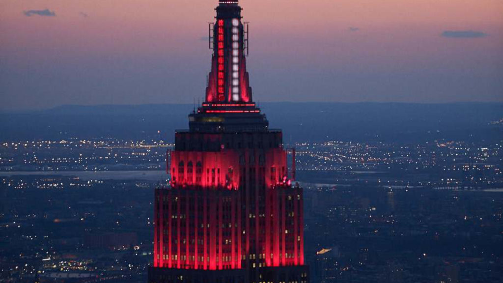 Empire State Building rood
