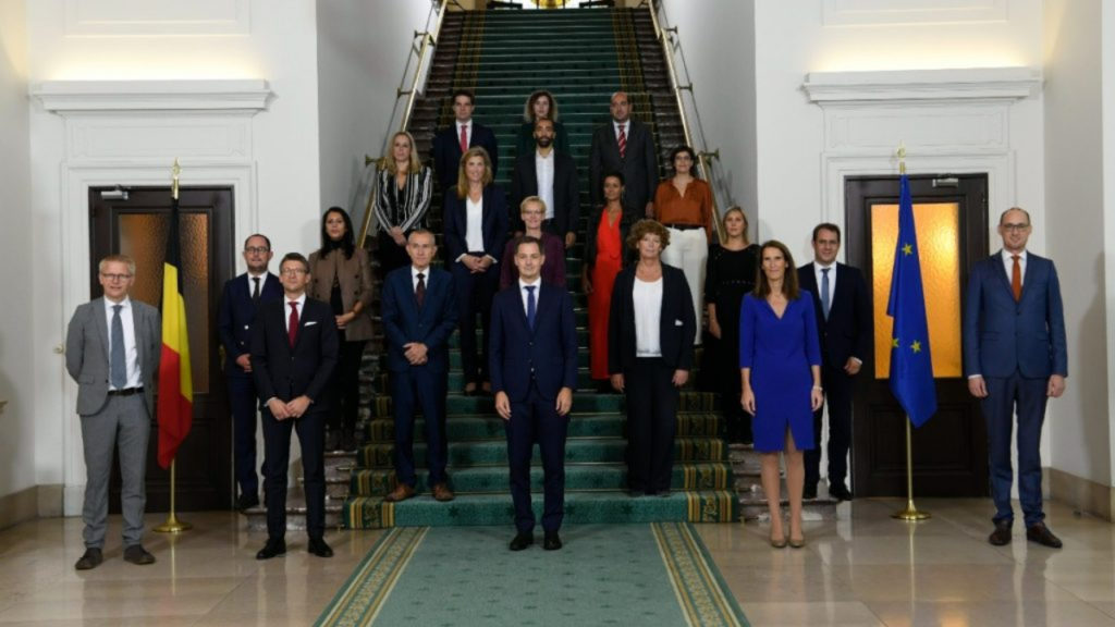 Federale regering De Croo I