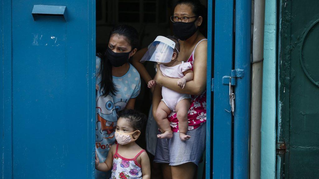 Filippijnen coronavirus kinderen