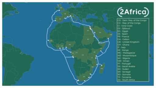 onderzeese kabel moet afrika van beter internet voorzien