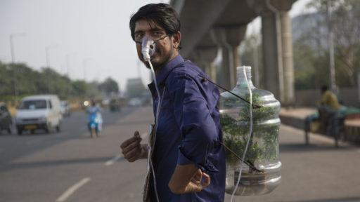 Delhi meest vervuilde hoofdstad