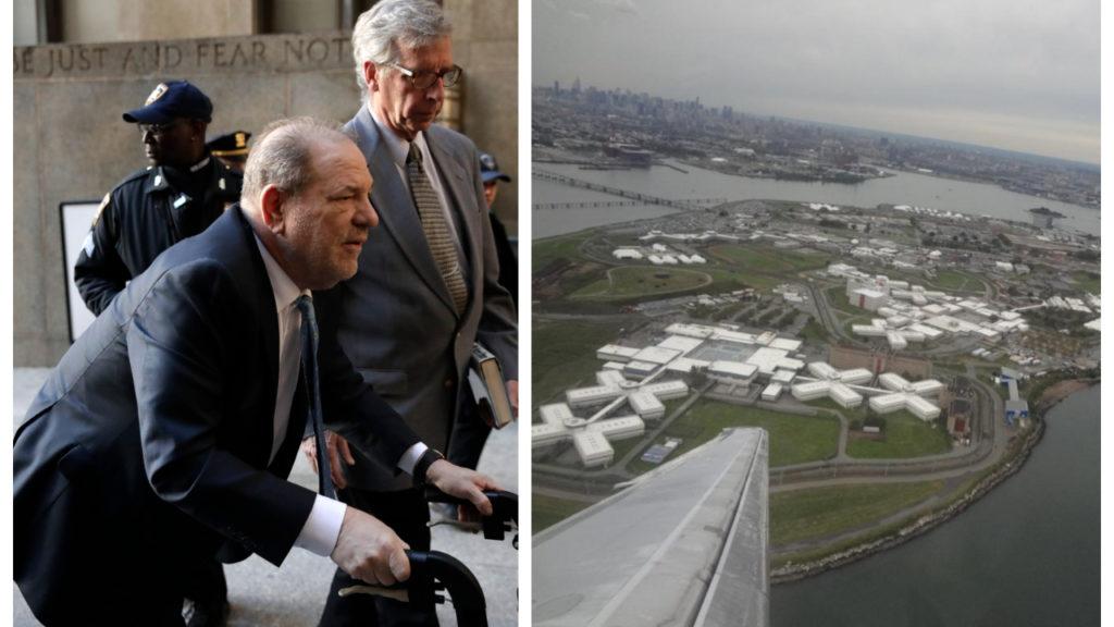 Harvey Weinstein overgebracht naar gevangenis Rikers Island