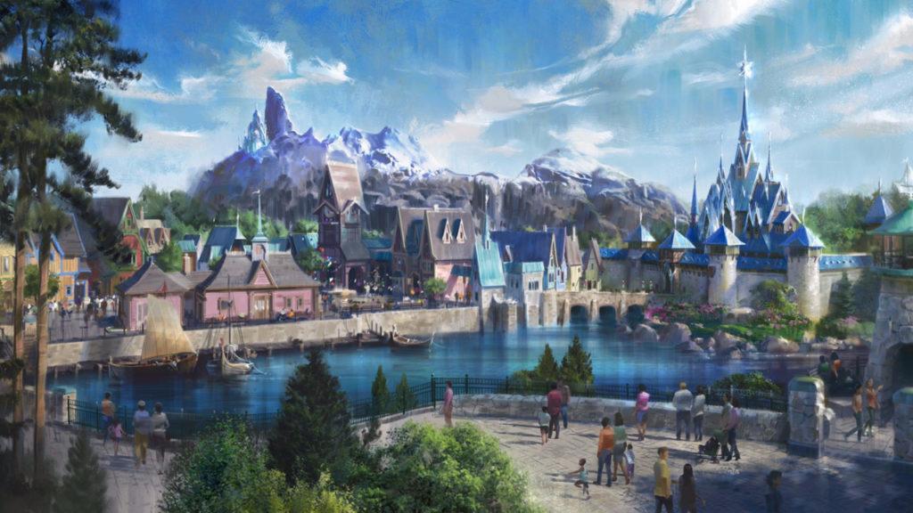 Frozen komt naar Disneyland