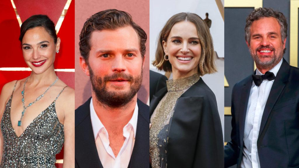 Gal Gadot - Jamie Dornan - Natalie Portman - Mark Ruffalo