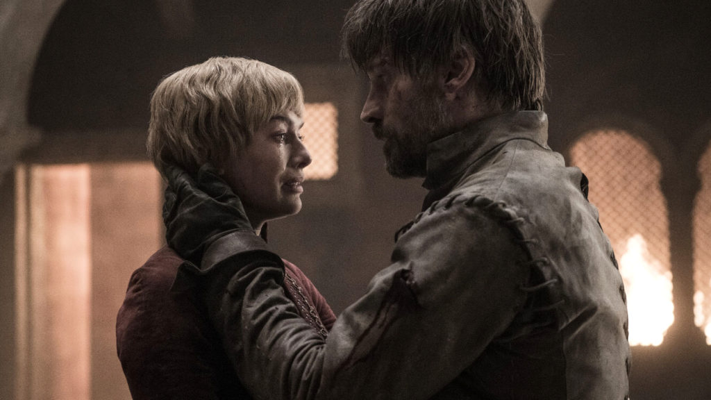 Game of Thrones Cersie Jamie Lannister