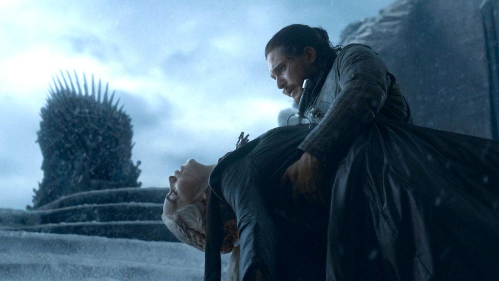 Game of Thrones Jon Snow Daenerys Targaryen Emilia Clarke