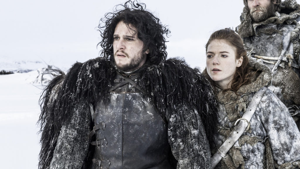 Game of Thrones Jon Ygritte