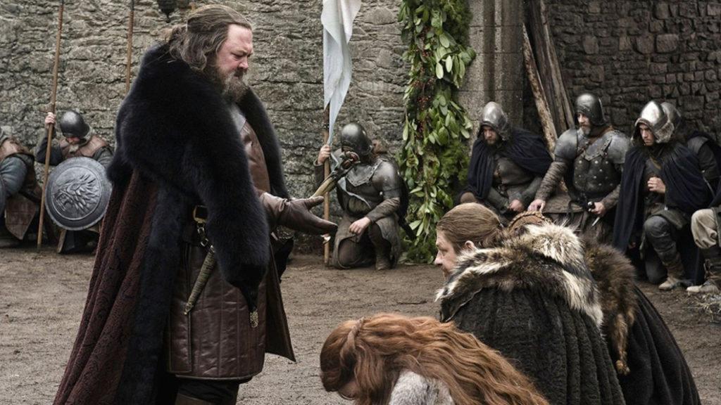 Game of Thrones Ned Stark Robert Baratheon Robert's Rebellion