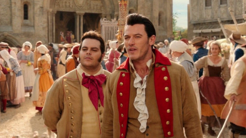 Gaston LeFou Beauty and the Beast