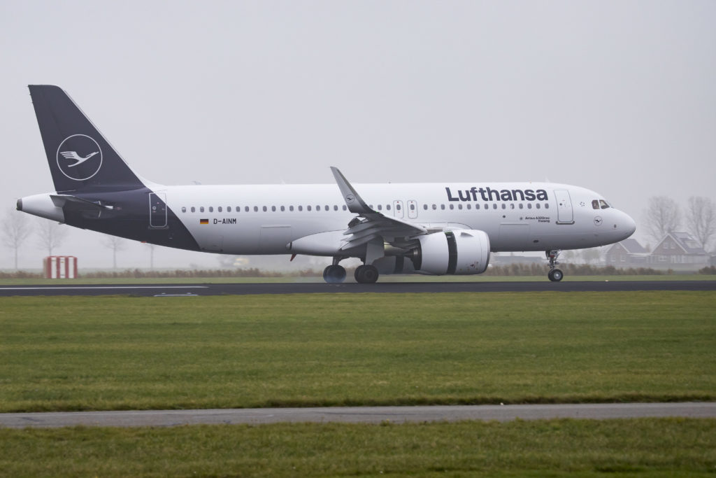 Lufthansa Airbus A320-271N or Airbus A320neo with