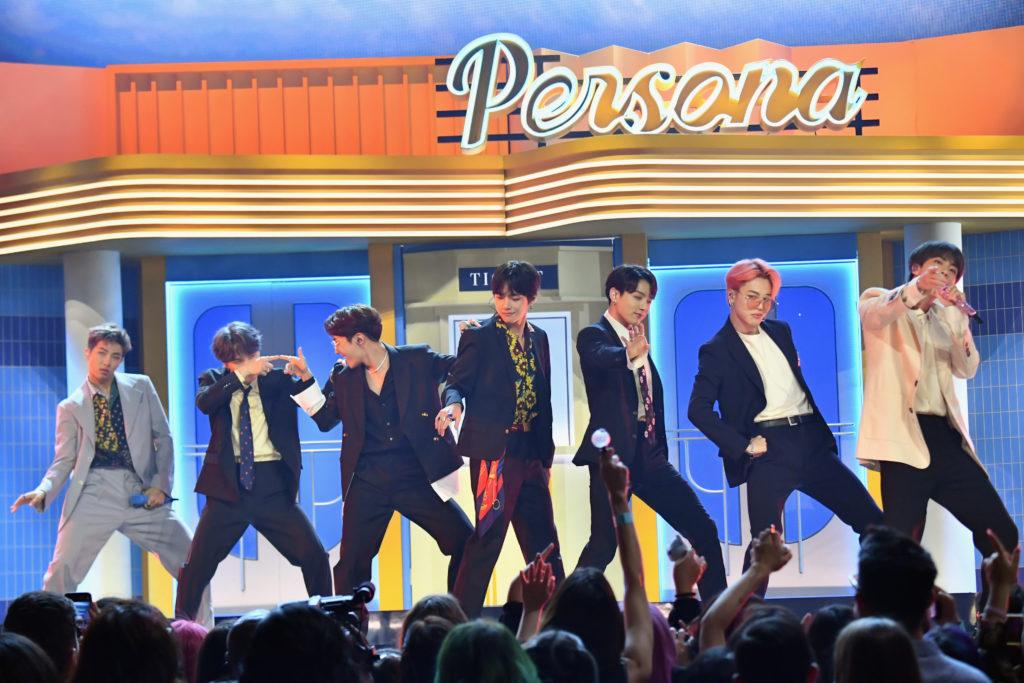 BTS op de Billboard Music Awards 2019