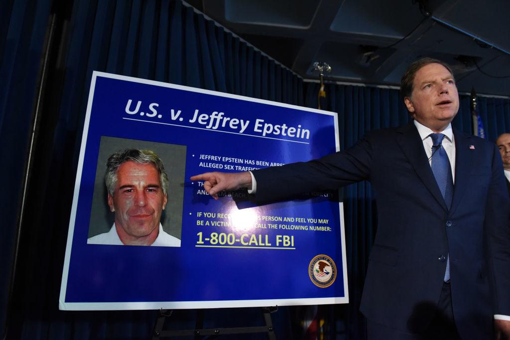 Jeffrey Epstein proces