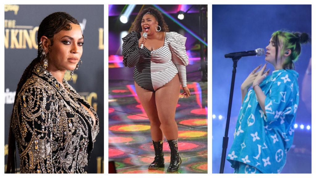 Grammy Awards Beyoncé Lizzo Billie Eilish