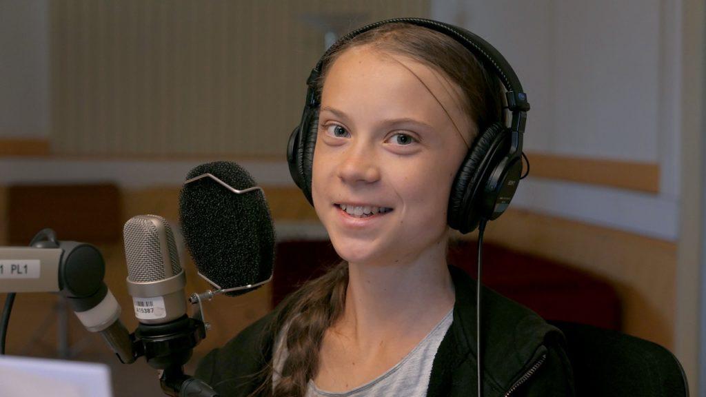 Greta Thunberg micro
