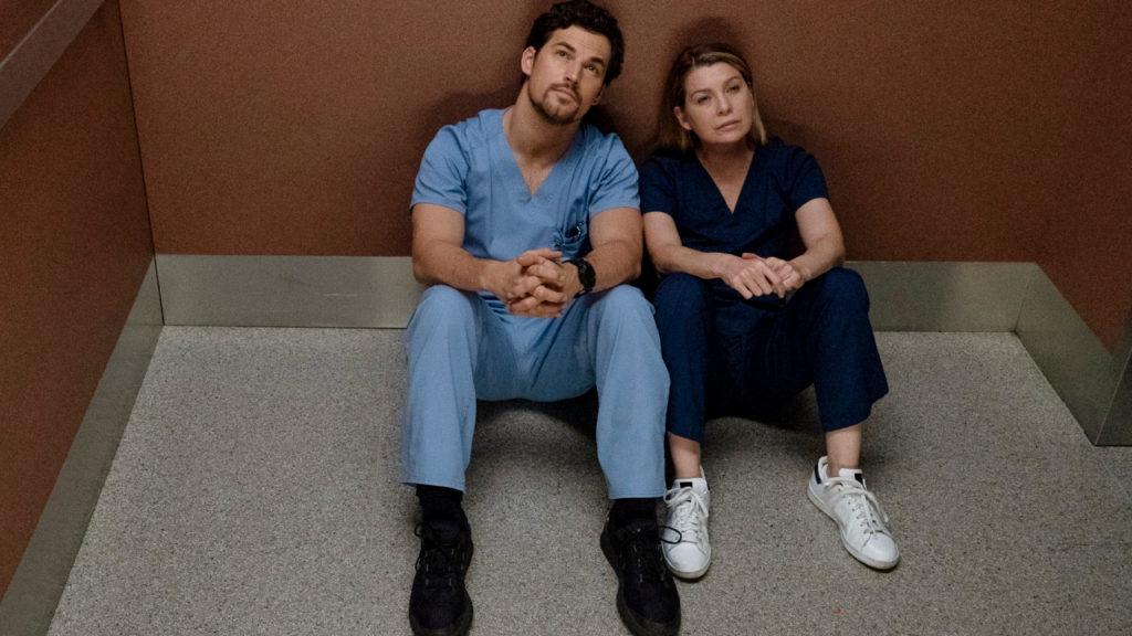 Grey's Anatomy Corona DeLuca Meredith