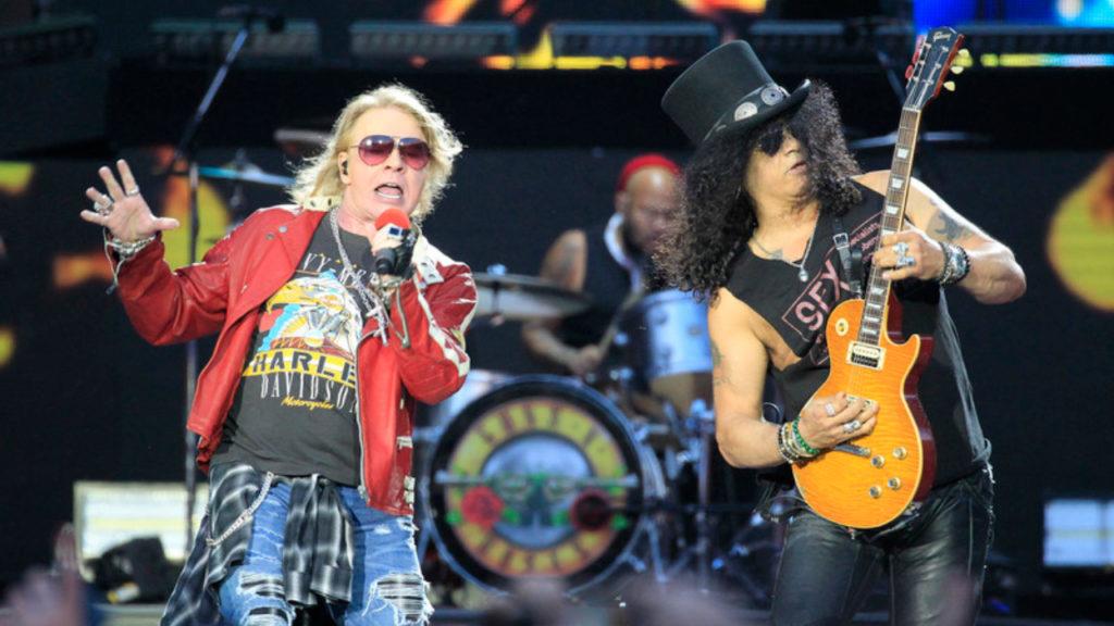 Guns N' Roses Axl Rose Slash