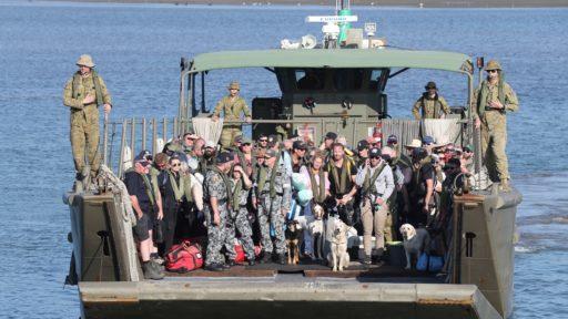 HMAS Choules Australië Mallacoota