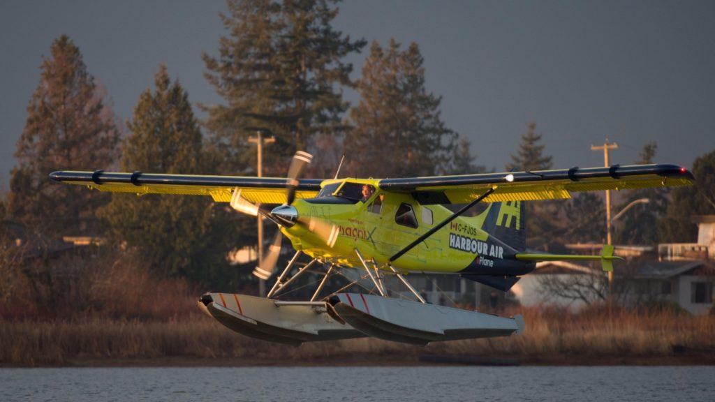 Harbour Air elektrische vlucht