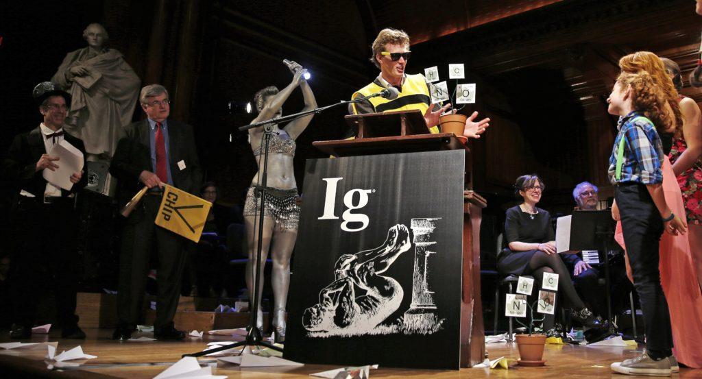 Ig Nobelprijs uitreiking 2015