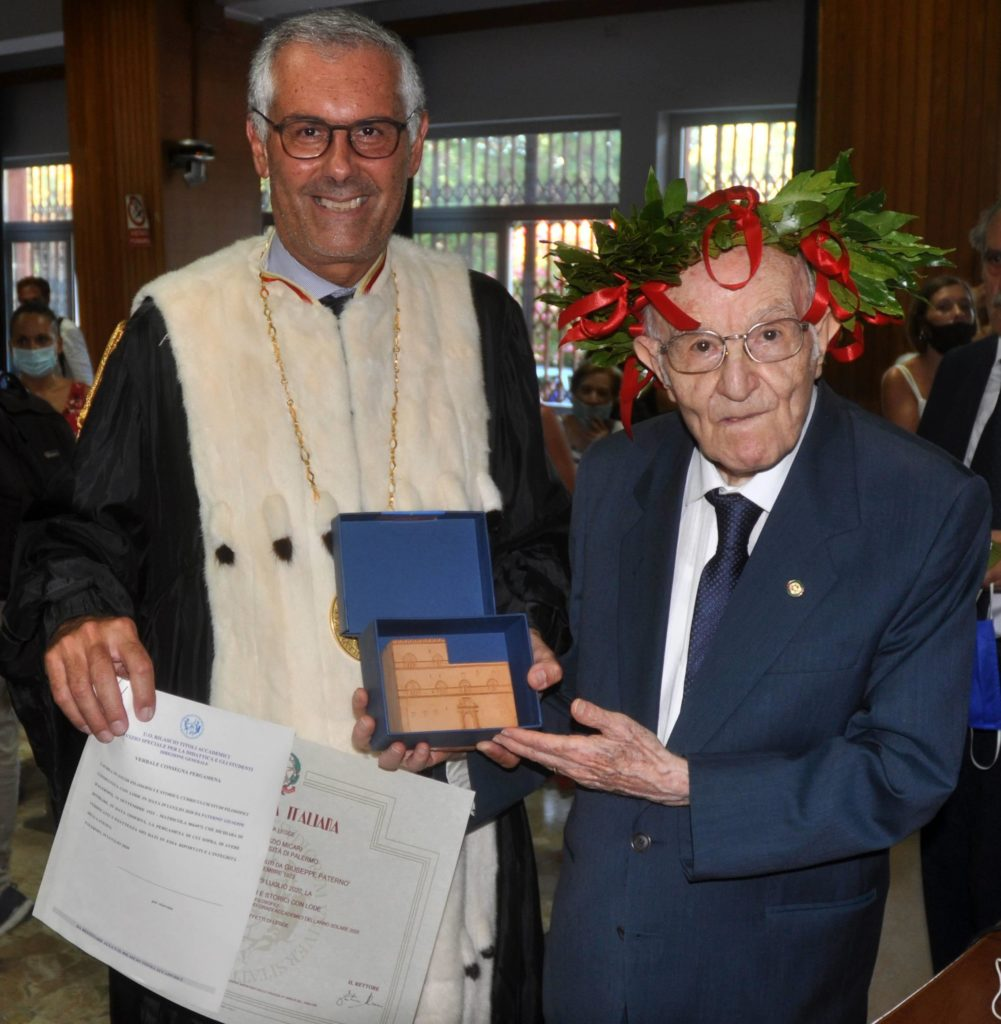Italy: Giuseppe Paterno 'Graduated At 97 Years In Philosophical And Historical Studies