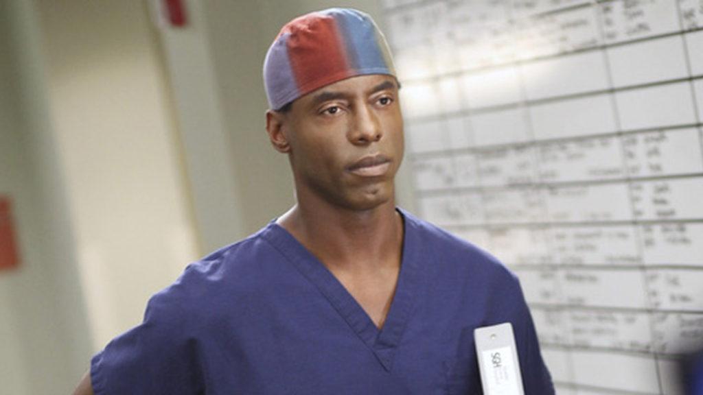 Isaiah Washington Preston Burke Grey's Anatomy