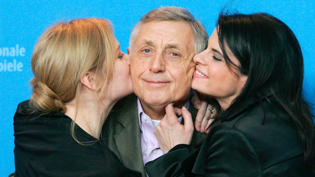 Actrice Julia Jentsch (links), regisseur Jiri Menzel (midden) en actrice Zuzana Fialova (rechts)