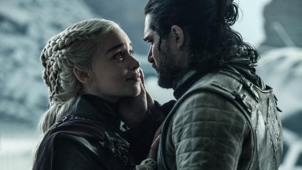 Jon Snow Daenerys Targaryen Arya Stark Game of Thrones