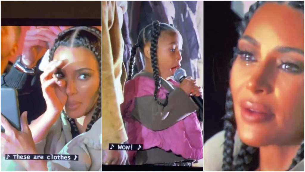 Kim Kardashian North West TikTok