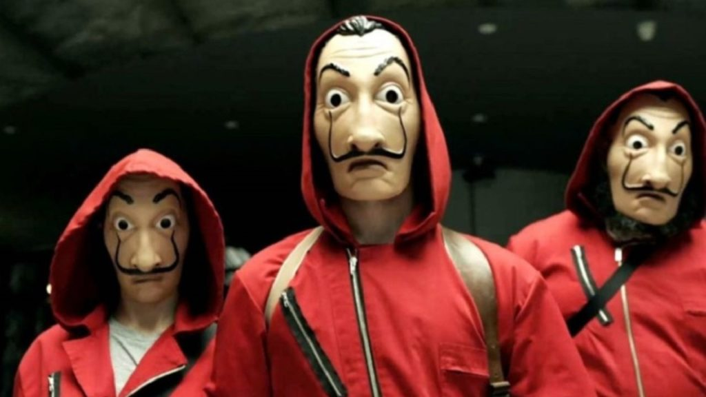 La Casa de Papel maskers